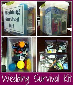 Sunshine!: Wedding Survival Kit