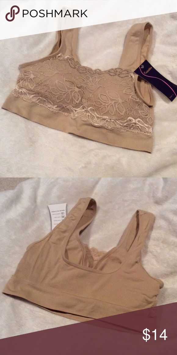 Nude Sports Bra Brand new with tags! size large but fits more like a medium Intimates & Sleepwear Bras