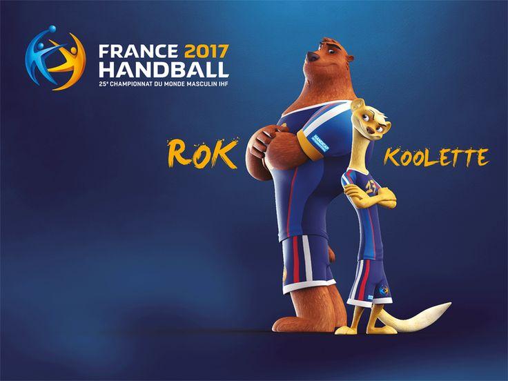 Fédération française de handball : FFHB: Le Mondial 2017 vous présente Rok et Koolette