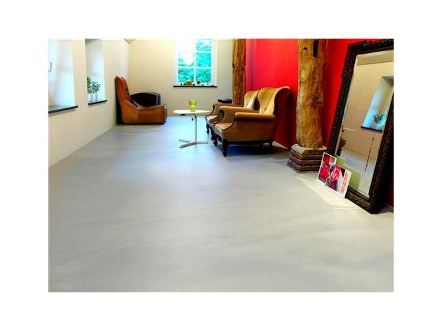 Gietvloer • modern interieur • woonkamer • www drtgietvloeren be livios be