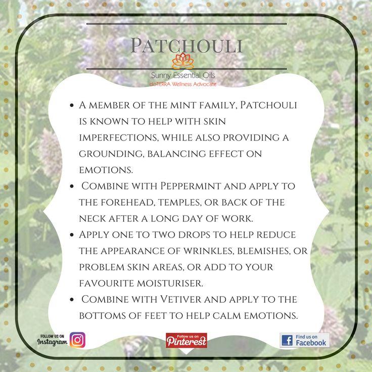 Patchouli Essential Oil  Facebook: https://www.facebook.com/sunnyessentialoils/  Instagram: @sunnyessentialoils