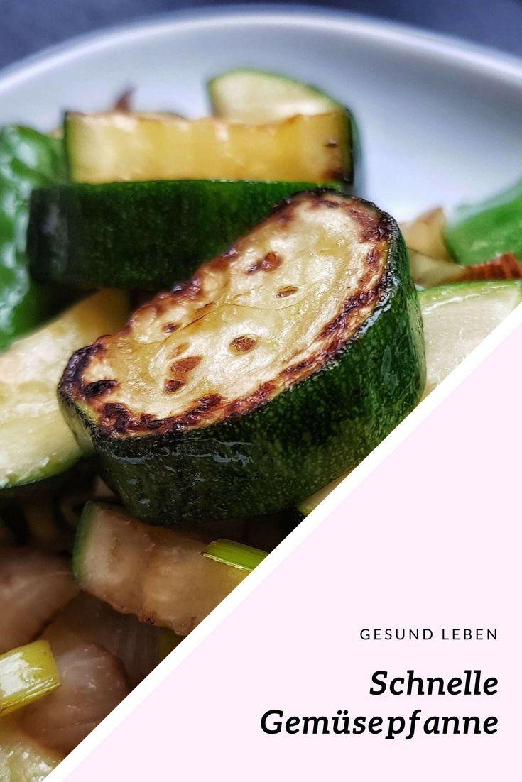 Ein Basisrezept Für Eine Schnelle Und Einfache Gemüsepfanne Aus