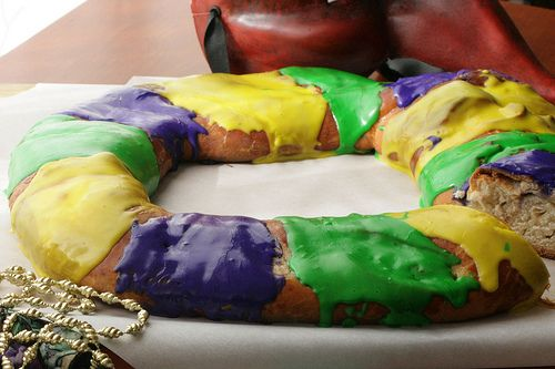 King Cake recipe - it that time of year, Mardi Gras is here!