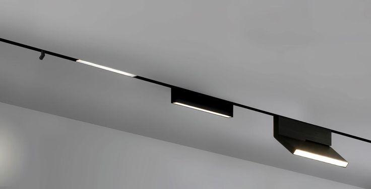 simple track lighting. Kezu Online Magnetic Lighting System Simple Track Indoor Illumination Pinterest C