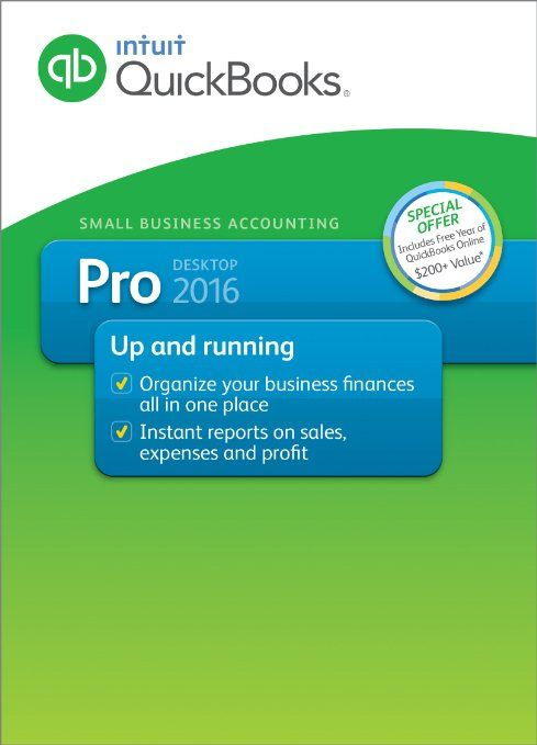 Superb QuickBooks Pro Small Business Accounting Software with Free QuickBooks Online Essentials Download