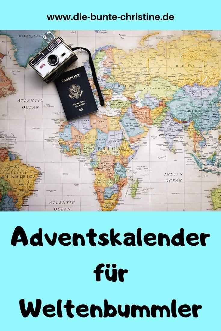 Adventskalender für Reise-Fans und Weltenbummler