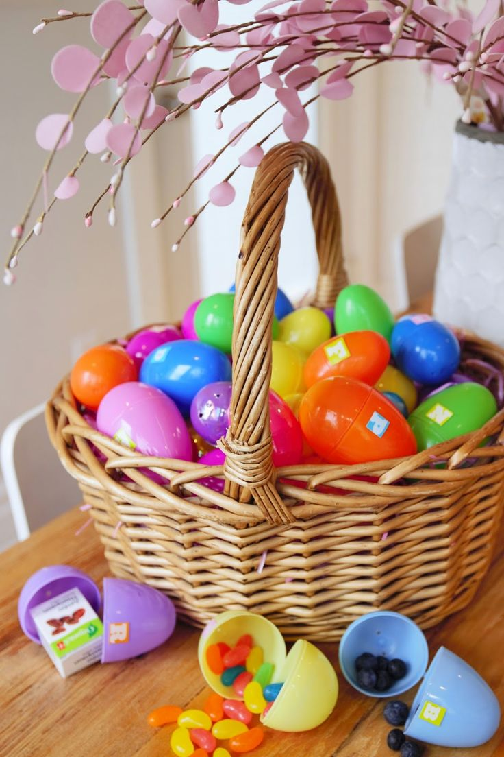 Alternative to chocolate Easter egg hunt