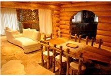 Dřevěný interiér domu Klenovice na Hané