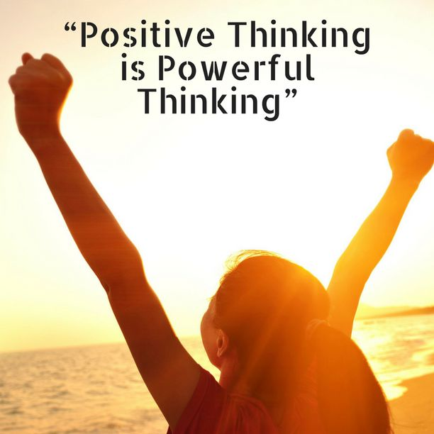 """positive thinking is powerful thinking"". In order to give you that little push you need in your life to look at the things differently, try talking to Sid and team"