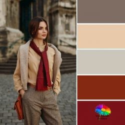 Color analysis in nature #color analysis #body shape #style makeover  http://www.style-yourself-confident.com/your-style-042
