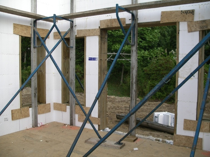268 best icf construction images on pinterest insulated for Icf foam