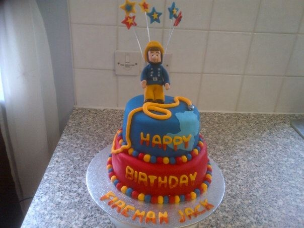 Fireman Sam Cake I Like The Way This One Turned Out