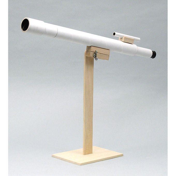 Je eigen telescoop bouwen? Het kan!