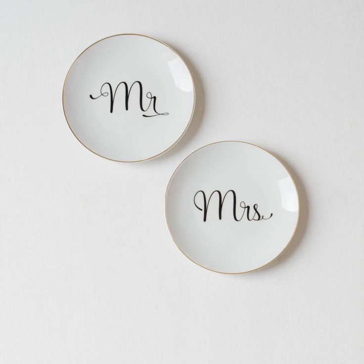Mr. & Mrs. Teller aus Porzellan