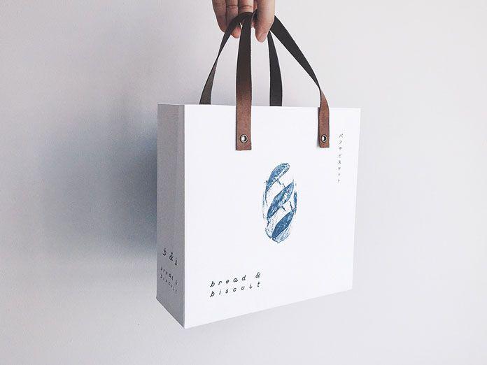 Paper carrier bag.