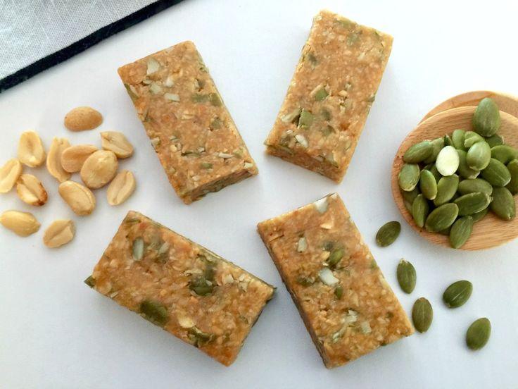 5 Ingredient No Bake Peanut Butter Bars
