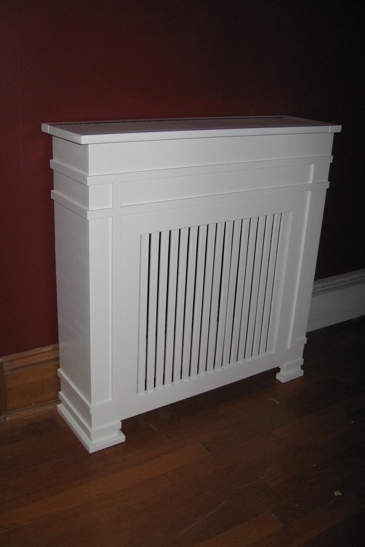 Radiator cover/shelf