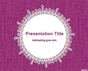 Scrap PowerPoint Template is a free PowerPoint template with circular shape and old fashioned style for PowerPoint presentations