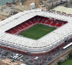 Sy Mary's Stadium Southampton - First Visited 2004