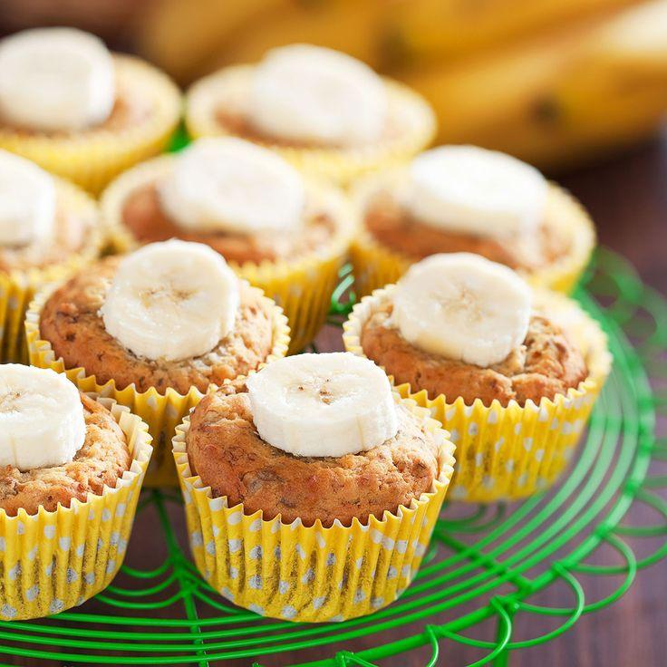 Coma Orgánico Blog especializado en agricultura y alimentación orgánica y saludable, le enseña a preparar muffins de banano y choco chips, saludables y deliciosos.