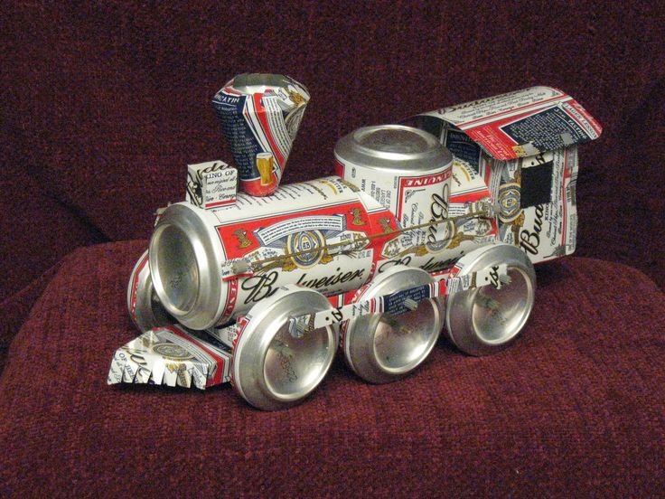 "Aluminum Can Craft Train Manual Download ""Make it Yourself"""