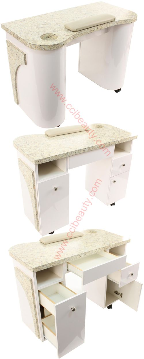 17 best images about hair salon equipments on pinterest for Beauty salon manicure tables