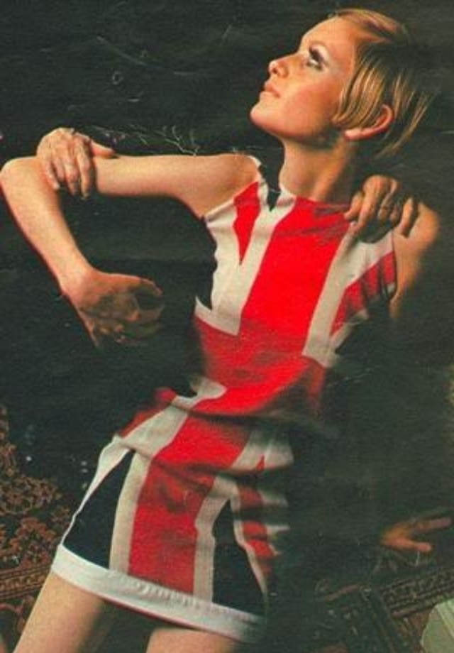 Twiggy and the British 'Invasion',  1960's.