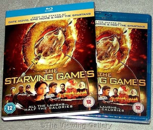 The STARVING GAMES hunger games spoof BLU-RAY comedy REGION B / 2 sealed NEW