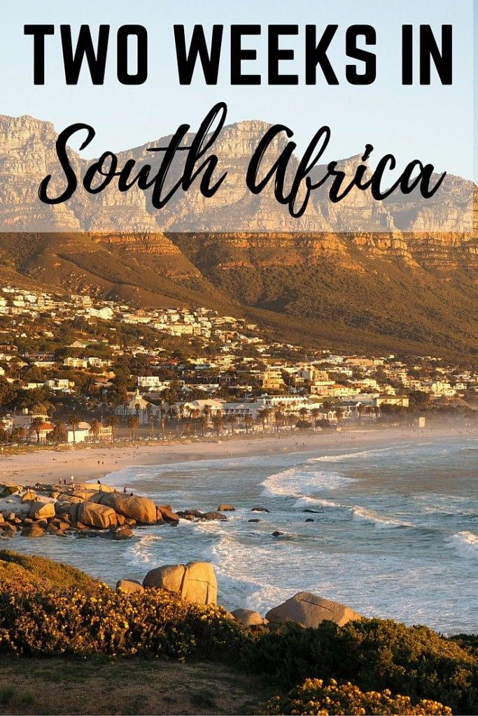2 weeks in South Africa