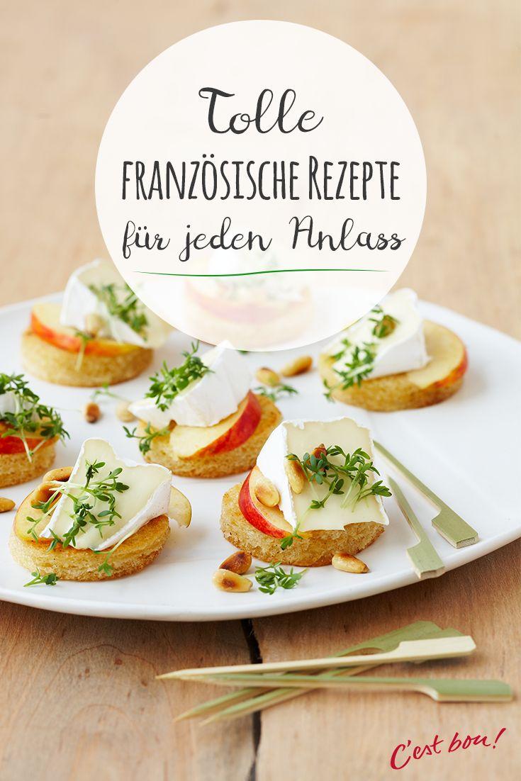 Unser Nachbarland Frankreich ist für seine kulinarischen Köstlichkeiten bekannt. Wir von Géramont zeigen Dir, wie Du beliebte französische Klassiker ganz leicht nachmachen kannst und zeigen Dir viele weitere Rezepte mit französischen Flair. #cestbon