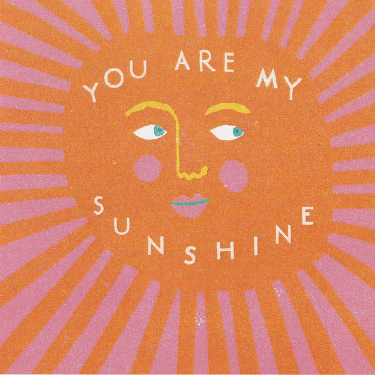 Sunshine Card | Stationery | The Printed Peanut