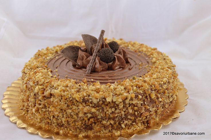 tort krantz cu nuca zahar ars si crema ciocolata grilias grilaj (1)