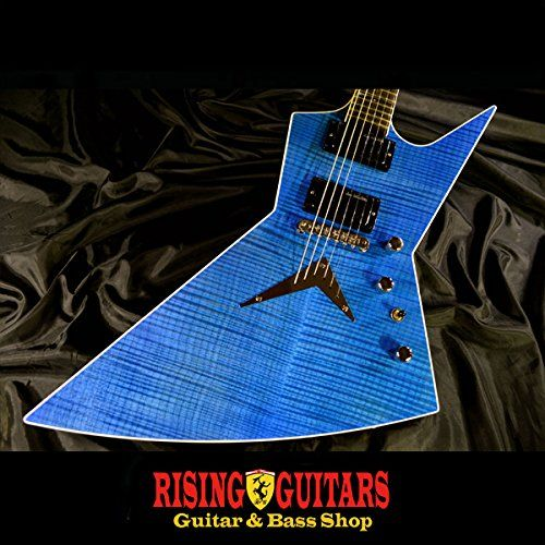 DEAN USA Dave Mustaine ZERO / Midnight Blue Flame '13 NAMM ディーン デイヴ・ムステイン エレキギター