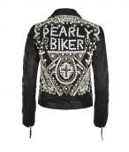 Pearly Queen Biker Jacket