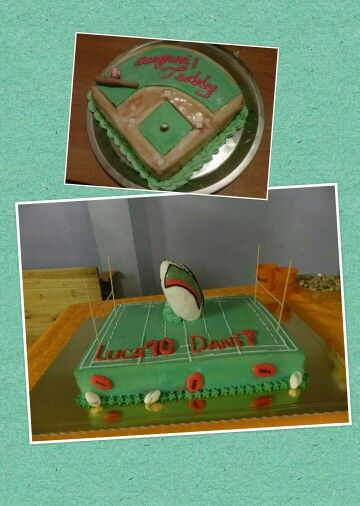 Torta Baseball vs Rugby