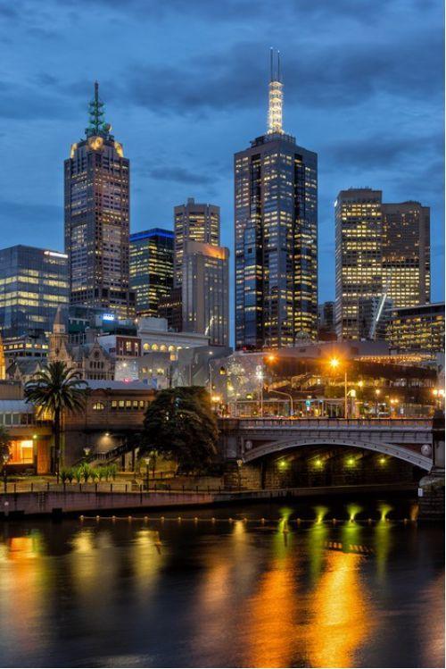 Amazing Melbourne from $34.99 | www.wallartprints.com.au #MelbournePhotos #AustralianLandscapePhotography