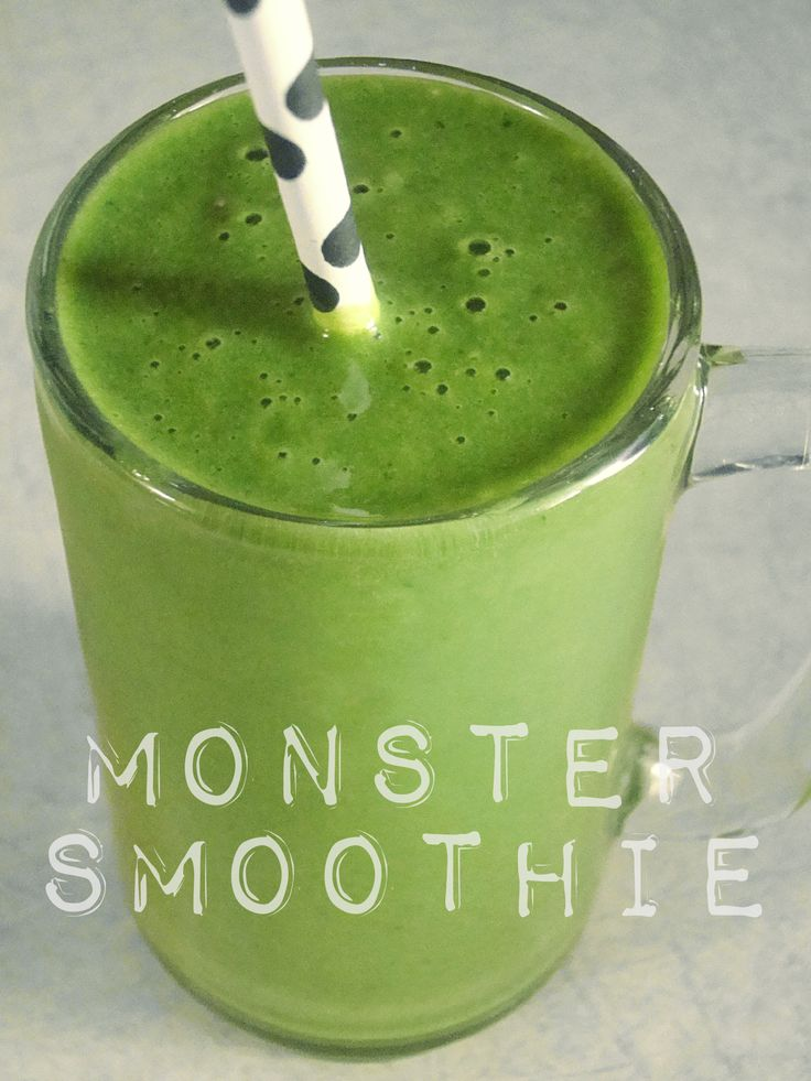 Green Monster Smoothie | My smoothieness, detoxness and happy drinks ...