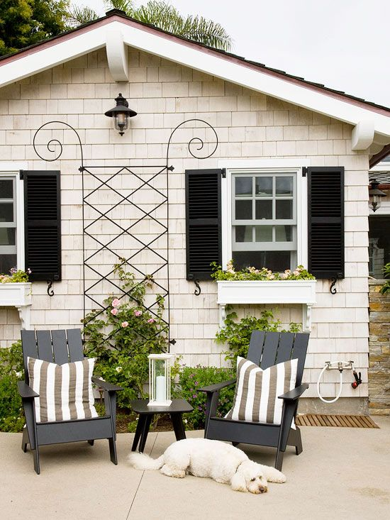 62 Best Images About Trim And Shutters To Go With Cream Siding On Pinterest White Shutters