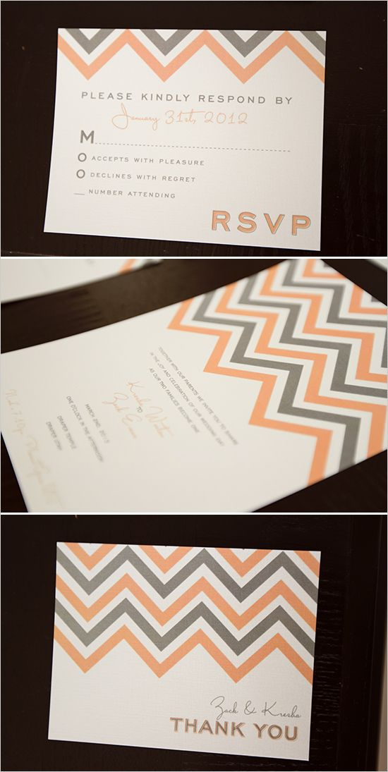 free chevron wedding invite #chevroninvitations #freeprintables #weddingchicks http://www.weddingchicks.com/2014/01/08/groomal-shoot/
