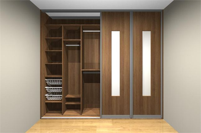 Built in wardrobe designs for small bedroom built in for Bedroom cabinet designs india