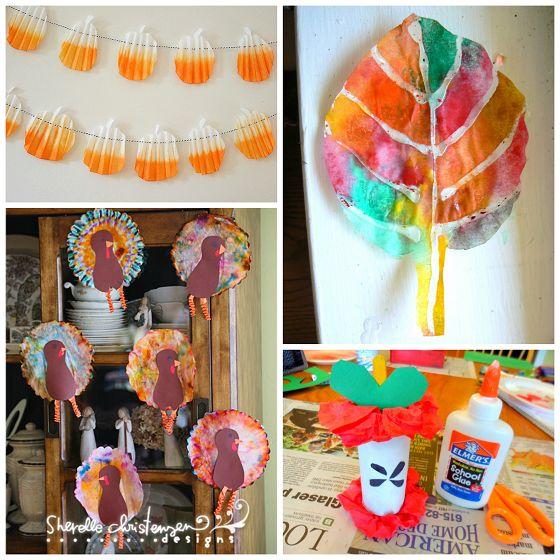 Halloween Art Crafts For Kids
