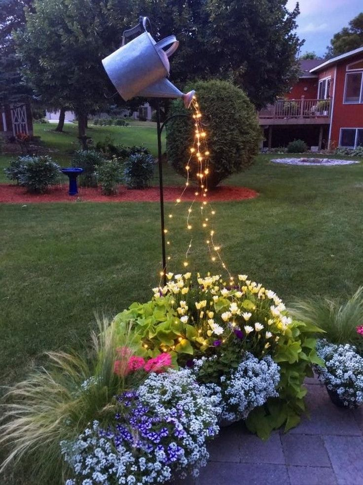 46+ Top Christmas Front Yard Decorating | Unique garden ... on Unique Yard Decorations id=29246