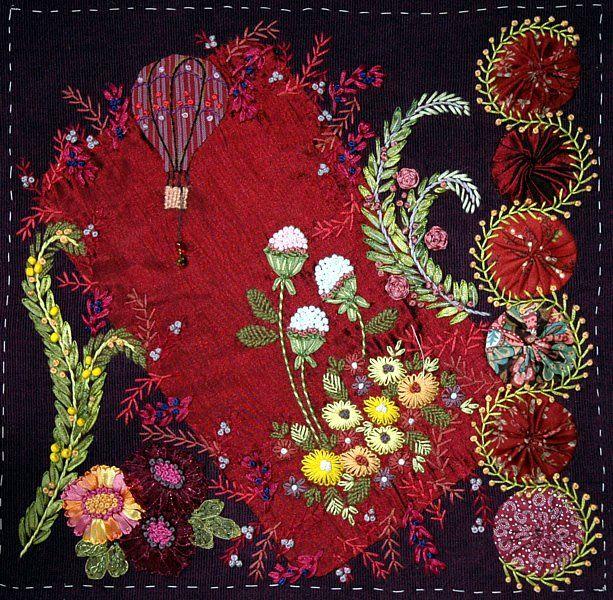 patchwork,quilt,crazy,broderie,embroidery,point,fil,needlework, embroidery, sampler, stitches, textiles, craft, art, fiber,crazy patchwork, decorative embroidery stitches,samplers, embroidery, stitches, needlework,quilts, patchwork, beads, lace, ribbon work, ribbon embroidery, textile, gallery, craft,art projects,folk art,textile, textiles, craft, crafts, handcraft, gipsy quilt, gipsyquilt,BOM,block of the month,bloc du mois,tutorial,tutoriel,crochet,atc,ecp,cartonnage,littérature,musique