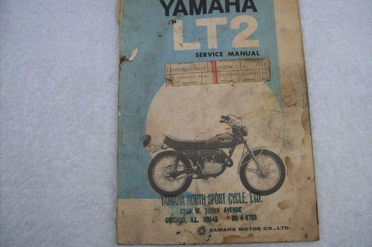 72 Yamaha Service Manual LT2 100 Enduro Vintage Bike Parts Ahrma MX | eBay