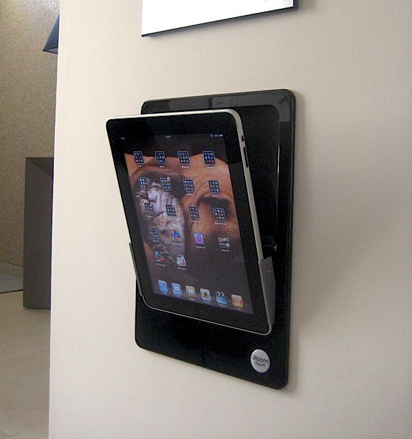 Great for viewing all those Tutorials in the  Kitchen or Craft Room. ~ iRoom Motorized Wall Mount iPad Dock