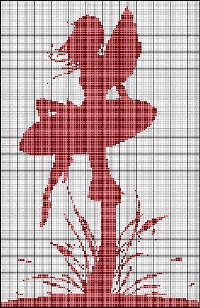 Fata sul fungo - Monocolore