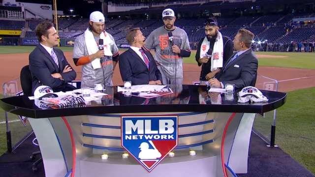 Giants visit MLB Tonight