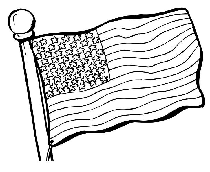 pow flag coloring pages - photo#31