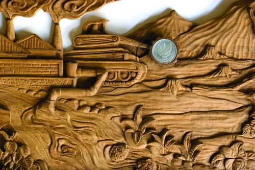 #Carving by Djuwadi from the #Forest #Art #Festival Exhibition, #KedaiKebun, #Yogyakarta, #Indonesia, 2006. www.etsy.com/djuwadiprints
