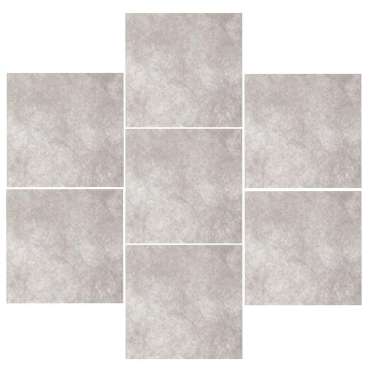 Trafficmaster Portland Stone Gray 18 In X 18 In Glazed Ceramic Floor And Wall Tile Sq